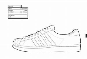 the gallery for gt adidas shoe coloring pages With adidas shoe template