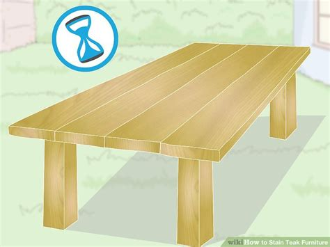 stain teak furniture  steps  pictures