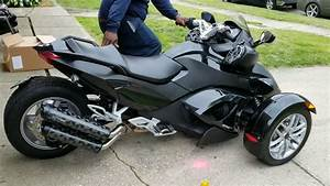 2016 Can Am Spyder With Two Brothers Exhaust
