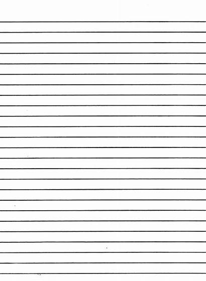 Writing Lines Notebook Lined Paper Printable Template