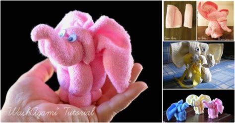 creative ideas diy towel elephant  creative ideas