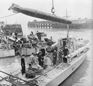 Boat Crash Captains Quarters by Fighter Seacraft Motor Torpedo Boats Uk 1943