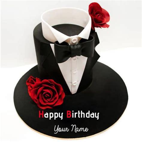 write   happy birthday handsome boy cake hbd cake