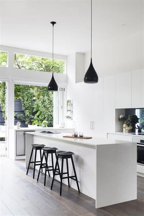 black and white photos with accents 34 timelessly elegant black and white kitchens digsdigs