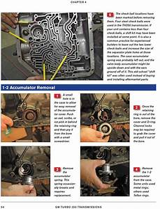 Hydramatic 350 Transmission Shop Manual Book How To
