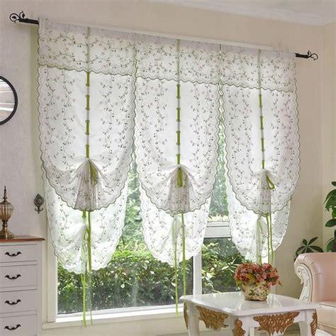 decoration rideau pour cuisine blanc 80 140cm 1 pc rideau pour fen 234 tre de salon chambre cuisine d 233 coration de maison romantique