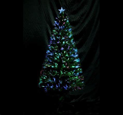 fiber optic christmas tree 6 3ft 230 leaf tips holiday