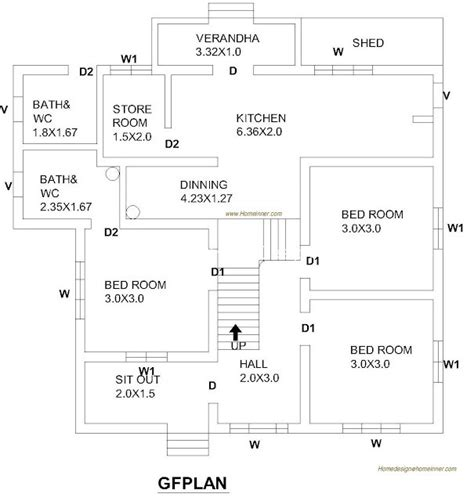 square feet  bed room floor plan penting ayo  share