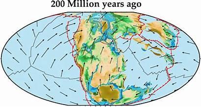 200 Earth Million Ago Plate Tectonics Oceans