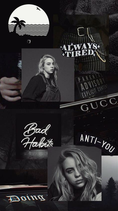 billie eilish aesthetic pictures wallpapers wallpaper cave
