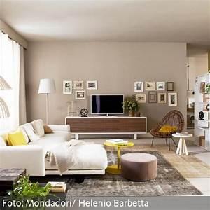 Wohnzimmer Farbe Gestaltung : raumgestaltung wohnzimmer farbe ~ Markanthonyermac.com Haus und Dekorationen