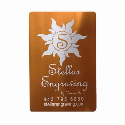 Anodized Cards Stainless Steel Metal