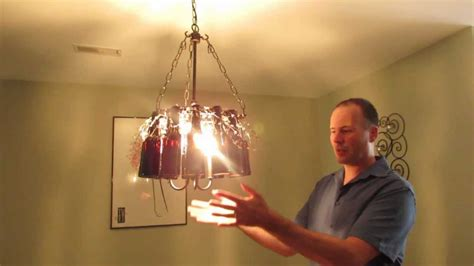 how to make amazing chandelier lighting fixture with