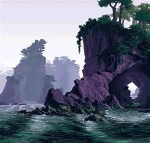 pixel landscape gif | Tumblr