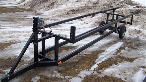 Boat Trailer Axle Lift by 16ft To 21ft Single Axle Scissor Trailer T M Marine