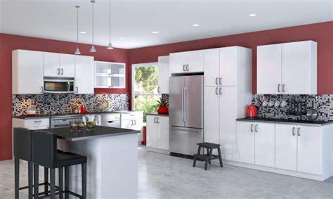 cuisine mur meuble blanc peinture cuisine avec meubles blancs 30 id 233 es inspirantes