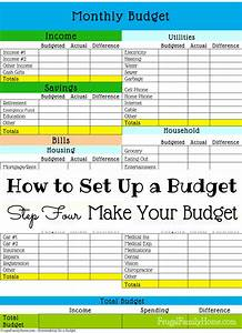 how to set up a budgetmake your budget frugal family home With how to set up a business plan templates