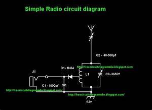 Simple Radio Circit Diagram Circuit Schematic With