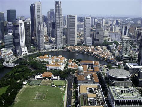 Skyline and cityscape of Singapore image - Free stock ...