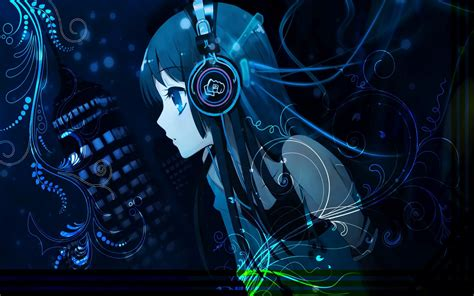 Anime With Headphones Wallpaper - headphones anime wallpapers hd