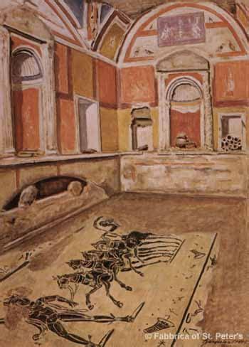 Vatican Necropolis - Tomb of the Chariot