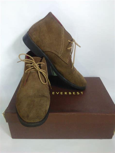 Hrg Sepatu Merk Everbest jual sepatu boots everbest damian leather suede