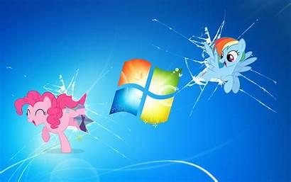 Mlp Windows Pony Background Desktop Wallpapers Deviantart