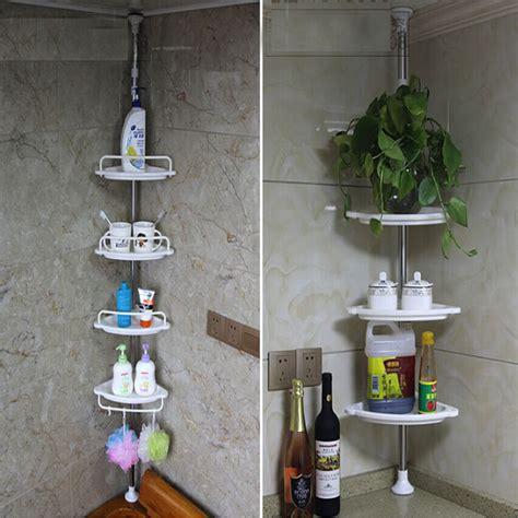 bathroom bathtub shower caddy holder corner rack shelf