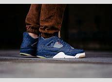 An OnFeet Look At The Levi's x Air Jordan 4 Denim