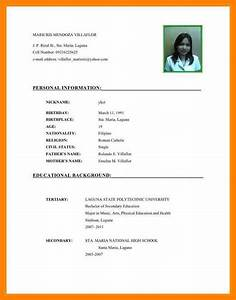 8 example of curriculum vitae for students gcsemaths With curriculum vitae examples for students
