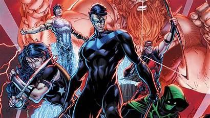 Titans Raven Dc Teen Comics