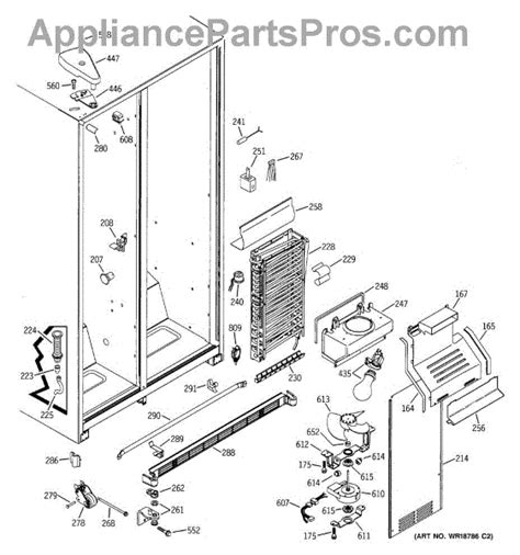 ge wrx evaporator fan motor grommet appliancepartsproscom