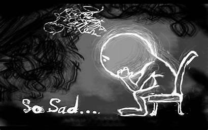 Sad Boy Wallpapers Boys Depression Cartoon Vertical