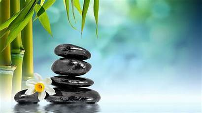 Bamboo Water Wallpapers Relaxing Stones Meditation Spa