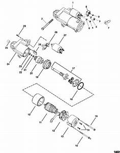 Engine Diagram 4 3l Lh V6 Mercruiser Starter