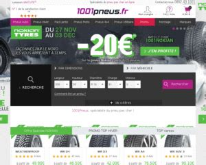 reduction 1001 pneu code promo 1001 pneus payement par cb en 3x ou 4x sans frais d 232 s 60 d achat