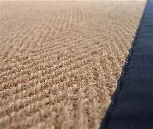 tapis sur mesure en moquette shaggy coco sisal jonc de With tapis coco sur mesure