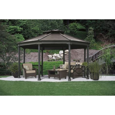 garden treasures pergola canopy garden treasures aluminum gazebo gardenxcyyxh garden