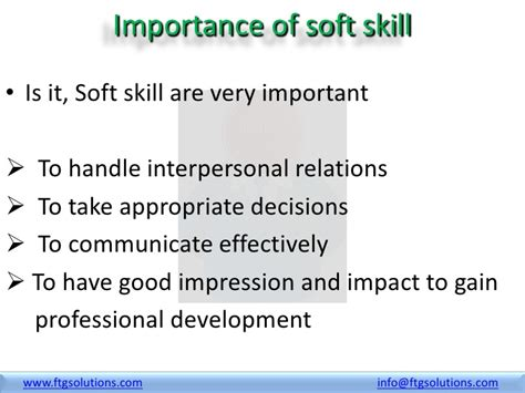 What Are Important Skills To List On A Resume by Why Soft Skills Required Ftg Solutions