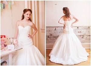 lace drop waist mermaid wedding dress with corset onewedcom With lace drop waist wedding dress
