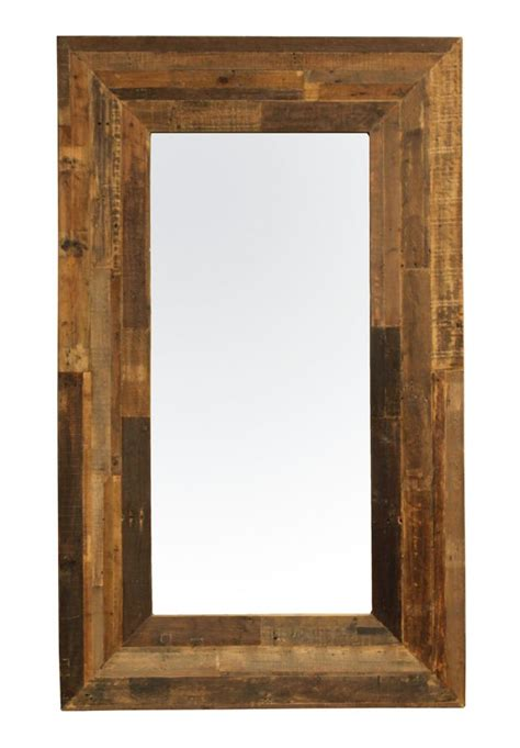floor mirror rustic modern rustic floor mirrors zin home blog