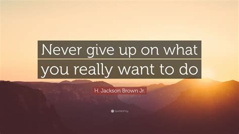 jackson brown jr quote  give