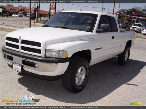 1998 Dodge Ram 1500 Sport by 1998 Dodge Ram 1500 Sport Extended Cab 4x4 Bright White