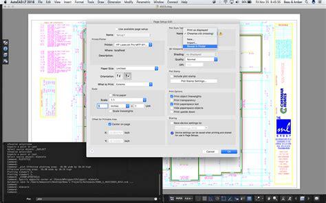 solved adding  ctb file  autocad  mac autodesk
