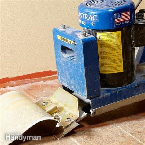 vinyl flooring removal vinyl flooring removal made easy the family handyman