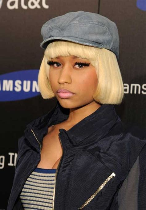 nicki minaj blonde bob hairstyles short hairstyles
