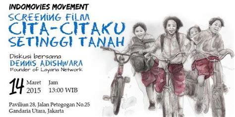 Cara Untuk Aborsi Bekasi Indomovies Movement Ajak Masyarakat Menuju Indonesia Yang