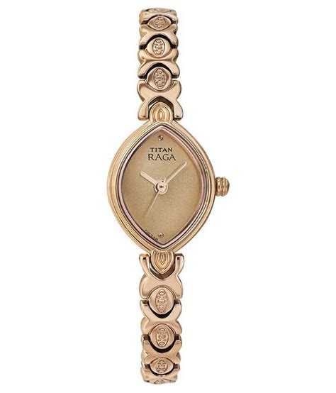 titan rose gold analog watch price in india buy titan