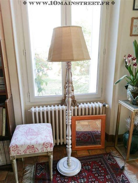 metamorphose raffinee pour  lampadaire rustique