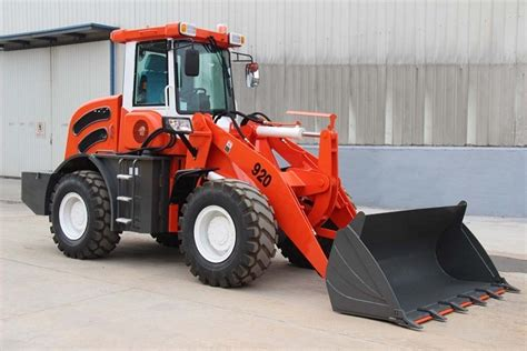 china canada popular zl wheel loader small front
